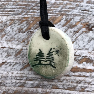Trees Necklace